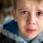 How to deal with a crying child